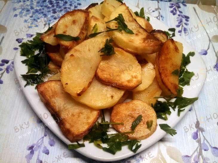 Картошка с корочкой