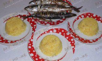 Рис и скумбрия