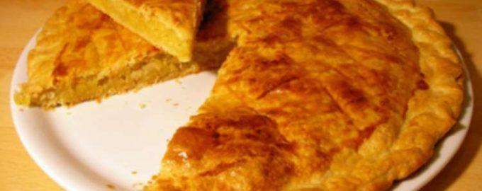 традиционный французский пирог