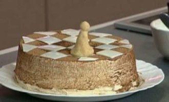 Шахматный торт