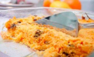 Рисовая запеканка в духовке