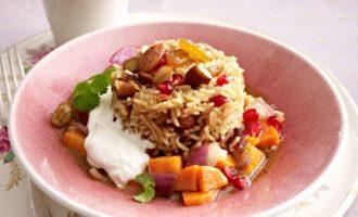 Рис по-мароккански