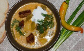 Венгерский суп гуляш рецепт «Палоц»