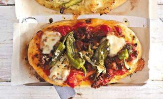 Пицца с мясным фаршем O SOLE MIO
