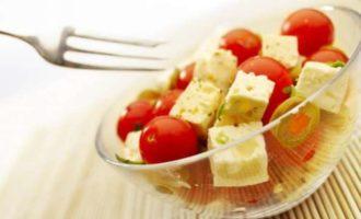 Овощной салат для завтрака