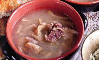 Суп хаш — рецепт супа из субпродуктов