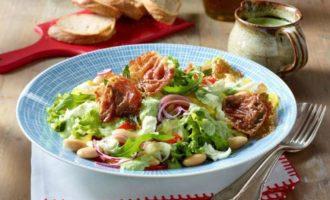 Тосканский летний салат