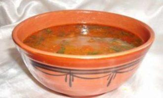 Шорба Фрика — густой суп с обожженной пшеницей
