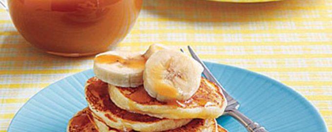 Оладьи с бананами