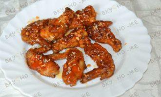 Куриные крылышки жареные на сковороде