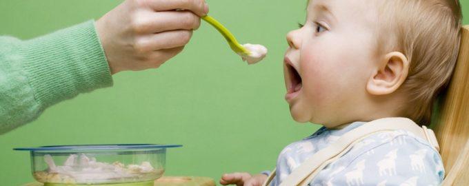 кормление ребенка в один год