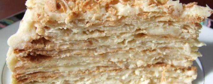 История торта наполеон