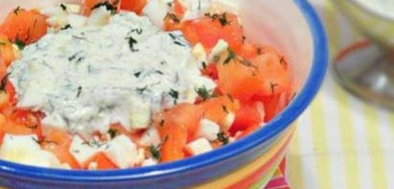 Салат из томатов