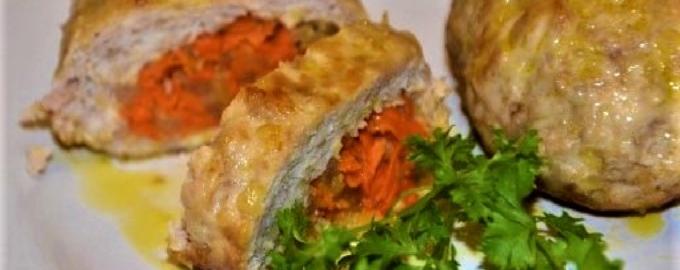 Зразы с морковью