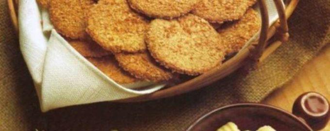Отрубное печенье