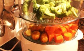 Диетический стол 1, овощи на пару